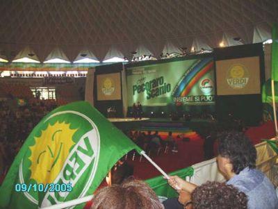 Convention Primarie Pecoraro Scanio 2005