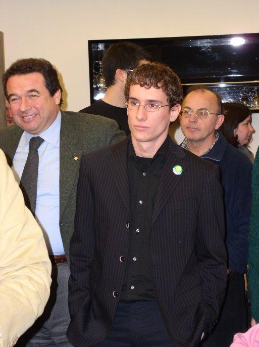 Ronchi con il Senatore Turroni