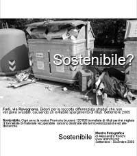 Sostenibile?