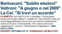 Berlusconi, Veltroni e la CEI