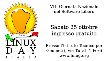 Linux Day 2008 Forlì