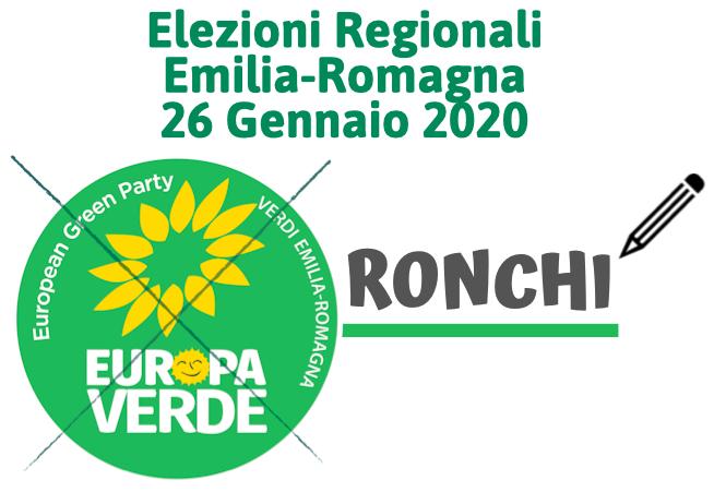 Fac Simile Voto Elezioni Regionali 2020 Forlì-Cesena Ronchi
